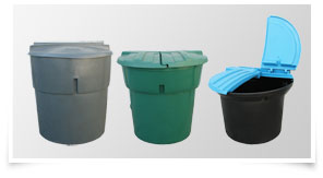 View Snyder Industries Gallon Refuse Containers